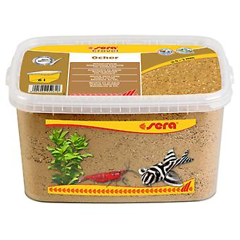 Sera Arena Gravel Ocher 0-2 mm (Fish , Decoration , Gravel & sand)