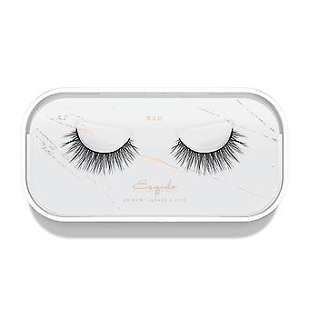 Esqido Unisyn False Eyelashes - X & O - Natural & Lightweight Fake Lashes