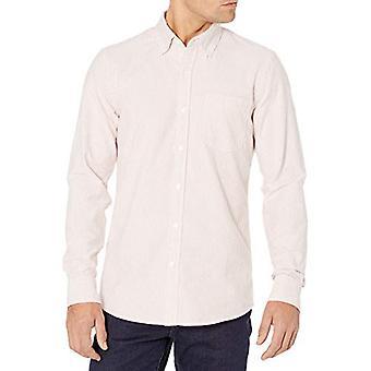 العلامة التجارية - Goodthreads الرجال & apos;ق سليم تناسب طويلة الأكمام مخطط قميص أكسفورد ث / ...