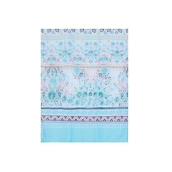 Intriga Womens/senhoras listrado floral lenço de impressão