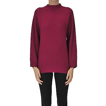 Dries Van Noten Ezgl093185 Dames's Fuchsia Wollen Trui