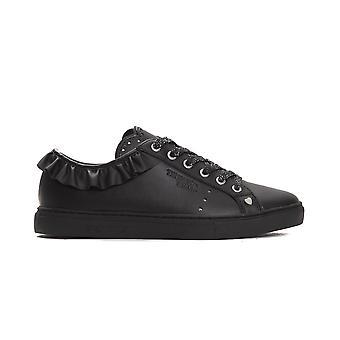 Trussardi Jeans Nero Black Sneakers TR662959-EU35-US4-5
