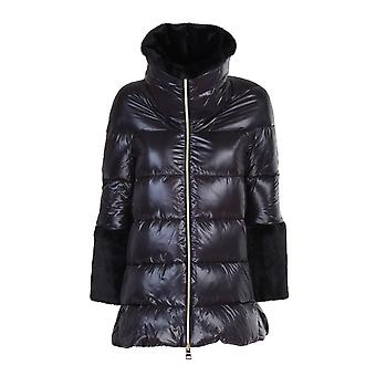 Herno Pi1132d120179300 Dames's Zwart Nylon Down Jacket