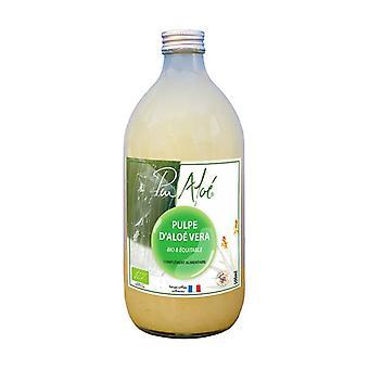 Pasteurized Aloe Vera pulp to drink ORGANIC 500 ml
