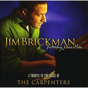 Jim Brickman - Yesterday Once More [CD] USA import
