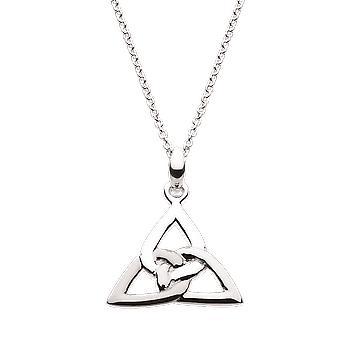 Heritage Sterling Silver Celtic Trinity Knot Pendentif 9325HP