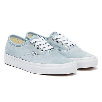 Vans Authentic Womens Blue Fog / White Trainers