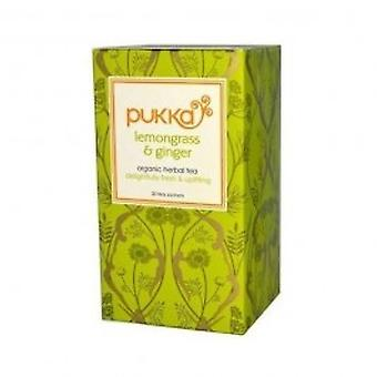 Pukka - Lemongrass & Ginger 20bag