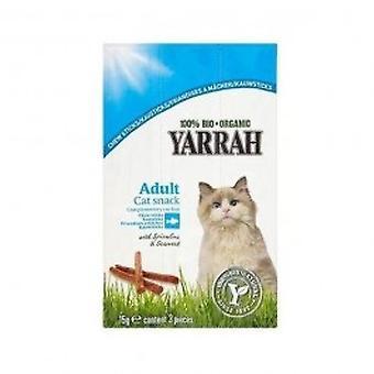 Yarrah - Org Cat Chew Sticks 15g