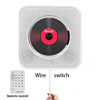 Wall-mounted Bluetooth Portable Home Audio Cd Player With Remote Control