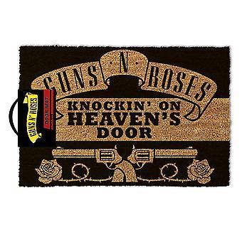 Guns N' Roses Knocking On Heaven's Door Mat - Gaming Merchandise