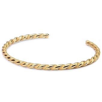 المتصيدون الملتوية الذهب مطلي Bangle TGPBA-00006