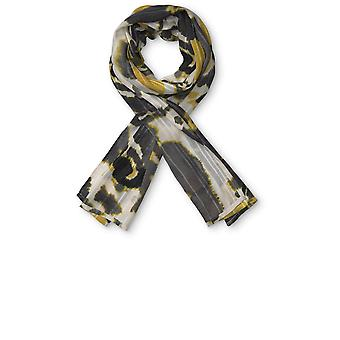Masai Clothing Along Yellow Tie Dye Scarf