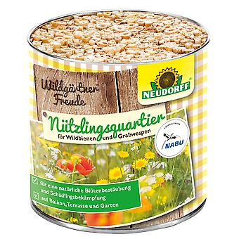 NEUDORFF Wildgardener®Freude Nützlingsquartier for wild bees and burial wasps, 1 piece