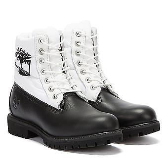 Timberland 6 Cal Premium Puffer Mężczyźni Czarny / Białe Buty