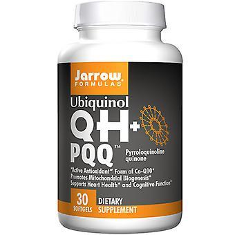 Jarrow פורמולות Qh פלוס Pqq - Ubiquinol פלוס Pyrroloquinoline Quinone, 30 Sgels