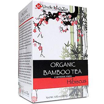 Uncle Lees Teas Organic Bamboo Tea, Hibiscus 18 Bags