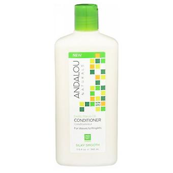 Andalou Naturals Exotic Marula Oil Silky Smooth Conditioner, 11.5 Oz