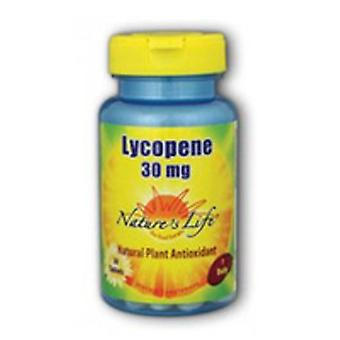 Nature's Life Lycopene, 30 mg, 30 tabs