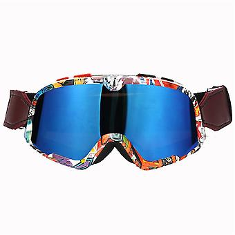 BSDDP Motorcycle Helmet Skiing Goggles Windproof Off-road Goggles