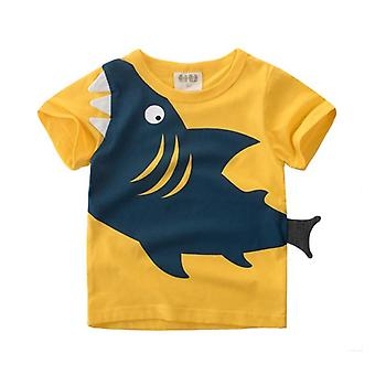 Baby Shark Pattern T-shirt &