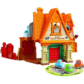 vtech toot-toot cory carson® cory's stay & play home educational toy for