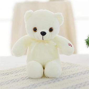 Luminus Led Light Stuffed Plush Teddy Bears Toy (32cm)