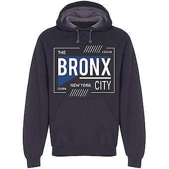 Bronx City Desing  Hoodie Men's -Image by Shutterstock
