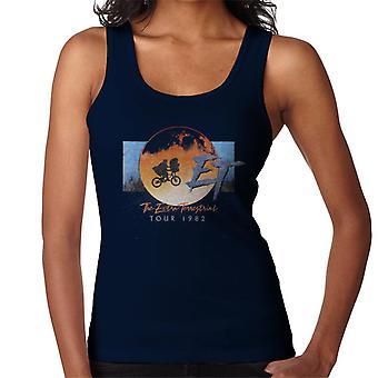 E.t. El Extra Terrestre Tour 1982 Classic Shot Women's Vest