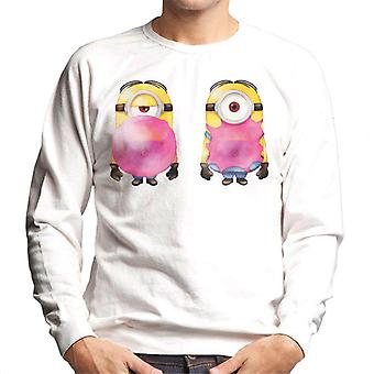 Despicable Me Minion Bubble Gum Pop Men's Sweatshirt