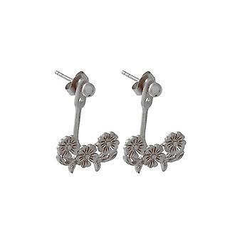 Olivia Burton Obj16lde03 Lace Detail Jacket Earrings Sterling Silver