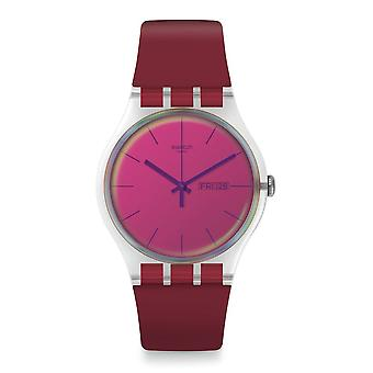 Swatch Suok717 Polared silicone horloge