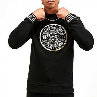 Glorious Gangsta Dinas Black Crew Neck Sweatshirt
