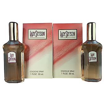 Lady stetson mujeres 1.0 oz col spr dos