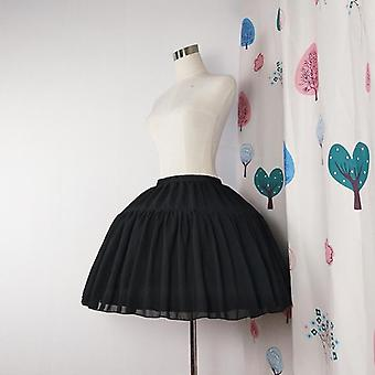 Kobiety&s&s Lolita Petticoat Bridal Cosplay Party Prom Dress Krótki Underskirt