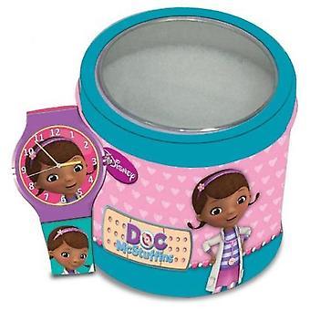 Disney watch doc mcstuffins  tin box 561146