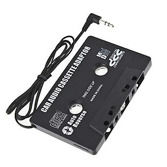 Newest Car Cassette Tape Adapter  Cassette Mp3 Player Converter 3.5mm Jack Plug