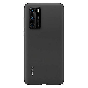 Cubierta móvil Huawei P40 Huawei Silicona Negro