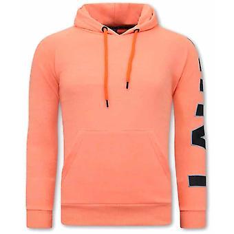 Oversized Hoodie - Orange