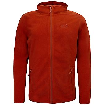 Jack Wolfskin Arco Jacket Mens Zip Up Hooded Track Top 1707361 4251
