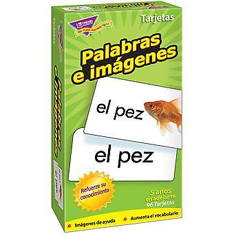 Palabras E Imgenes (Sp) Skill Drill Cartes Flash