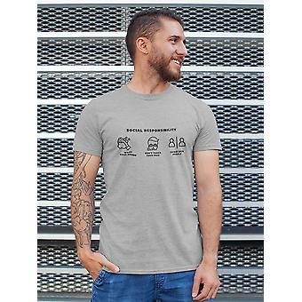 Soziale Verantwortung Men's T-shirt