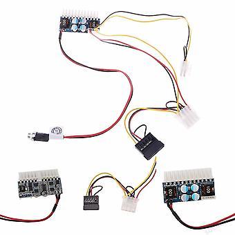 Dc 12v 160w 24-pin Atx التبديل Psu سيارة السيارات البسيطة تكنولوجيا الطاقة الكهربائية الكهربائية كابل وحدة