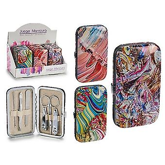BigBuy Manicure set with assortment of 6 different colors