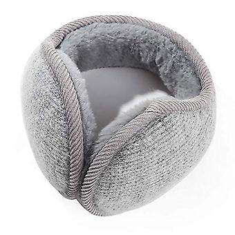 Style Winter Earmuffs, Solid Protect Cute Faux Soft Fluffy Earcap