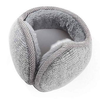 Stil Winter Earmuffs, solide schützen süße Faux weiche flauschige Ohrmütze