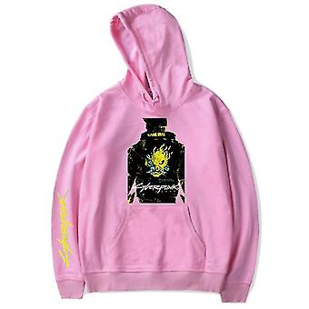 Cyberpunk 2077 Sweatshirt Hooded Hooded Candy Color Outer
