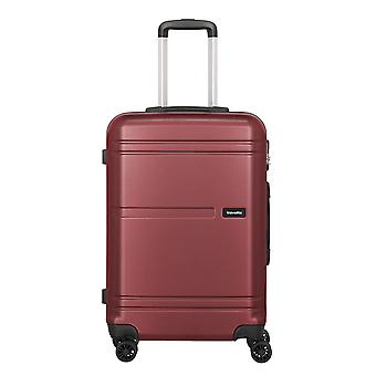 Travelite Yamba Trolley M, 4 rouleaux, 64 cm, 61 L, rouge