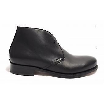Men's Shoes Ben.ter Polish Leather Black Color Handmade U18bt16