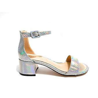 Women's Gold & Gold Tc 45 Silver Laminate Ankle Sandal Ds20gg39